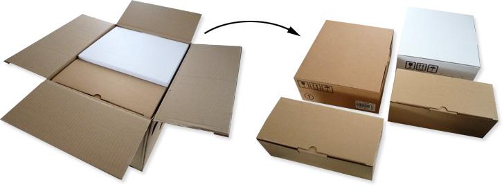 L 39 emballage de la freebox v5 pour la migration vers for Des cartons pour demenager